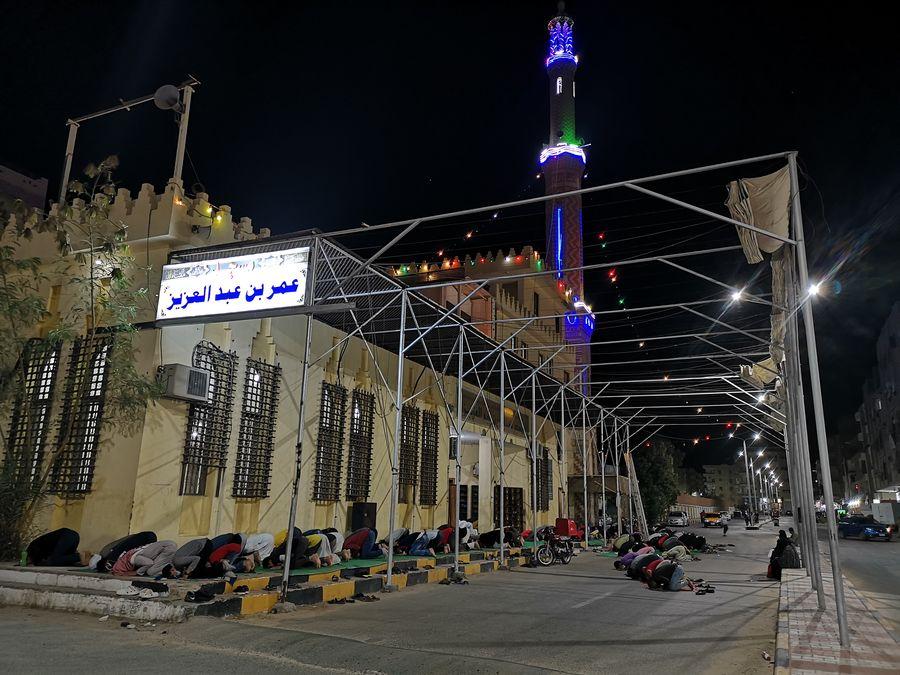 a mosque in Hurghada