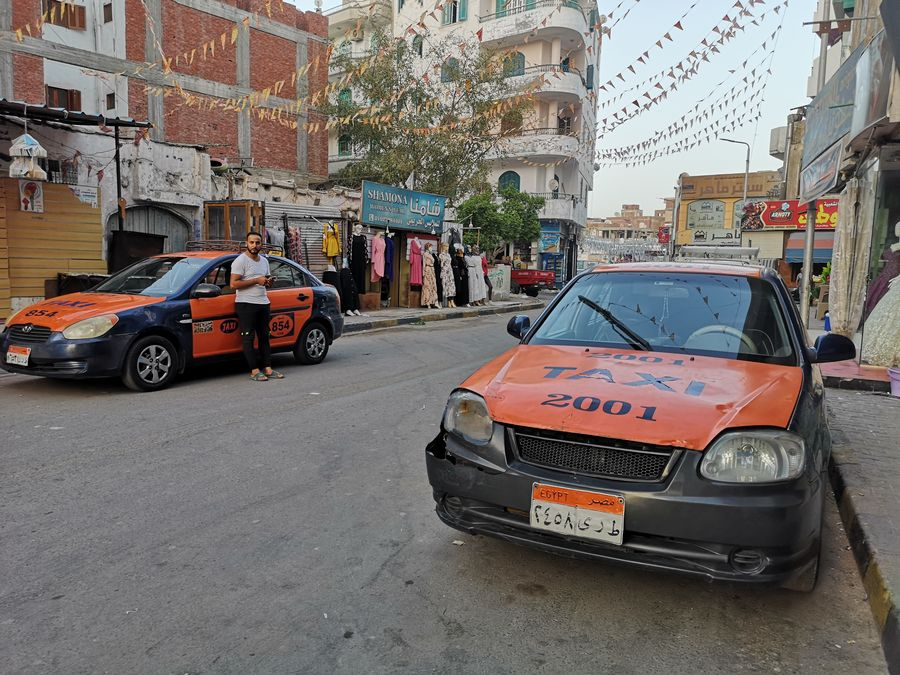 taxis in Hurghada